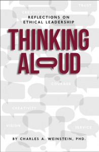 """""""Thinking Aloud"""" - Book on Ethical Leadership"""